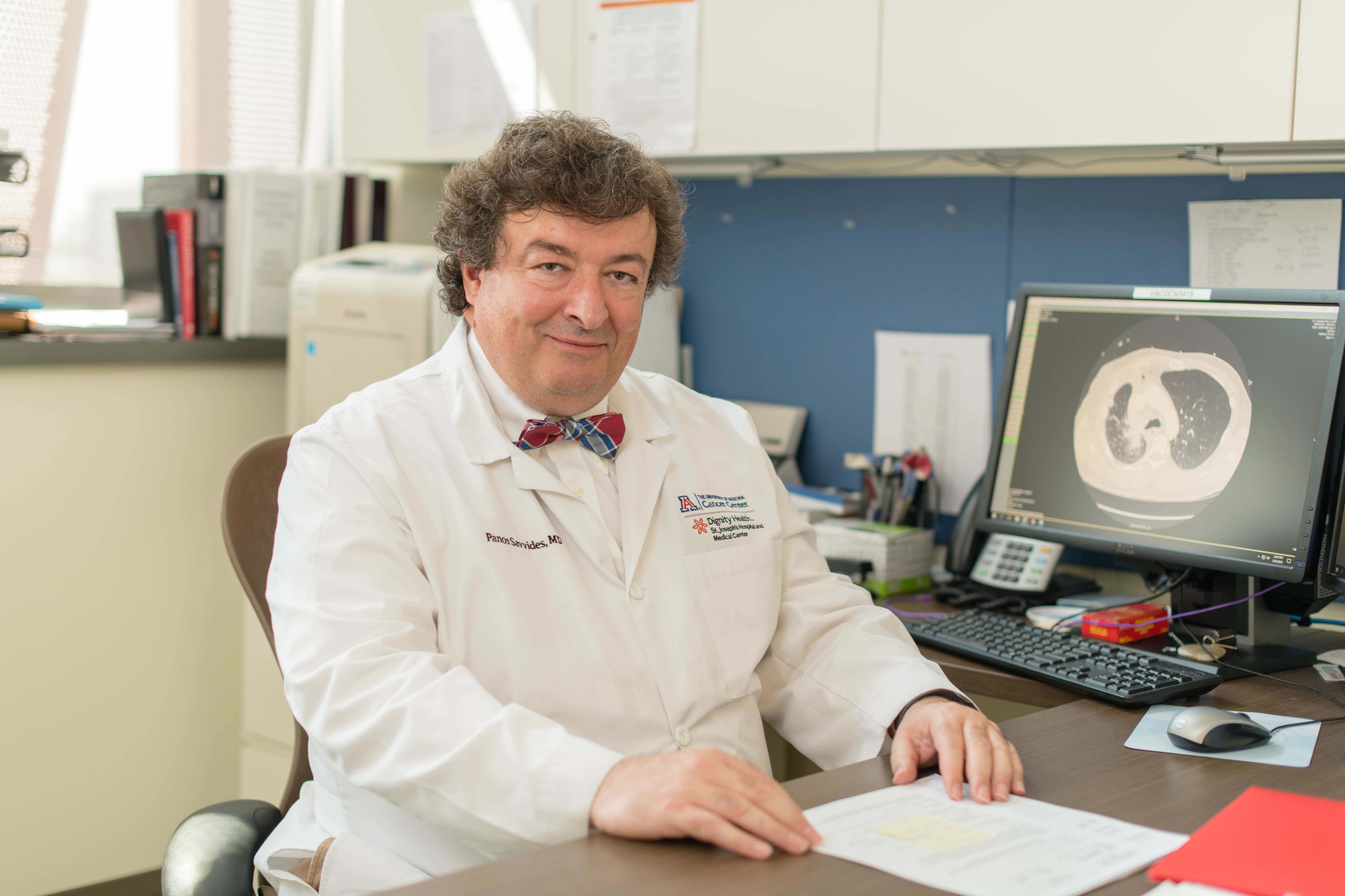 Panayiotis Savvides, MD, PhD, MPH (credit: Tabbs Mosier, UA College of Medicine - Phoenix)